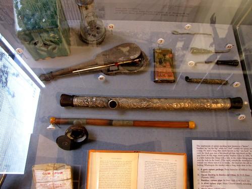 Opium pipes