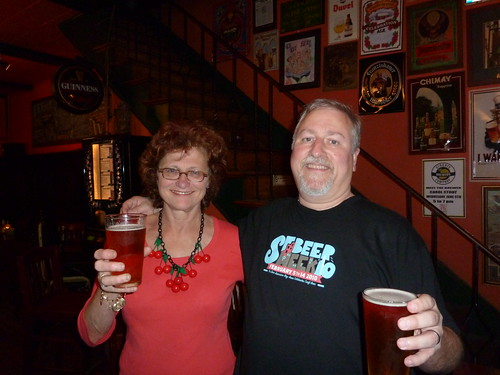 Carol Stoudt & me