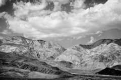 And the Bird Was Silent (Thomas Hawk) Tags: california bw usa clouds unitedstates desert 10 unitedstatesofamerica deathvalley deathvalleynationalpark fav10 natureshand