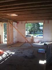 Livingroom and front door