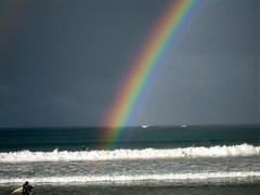 Surfing the rainbow (ajft) Tags: geotagged rainbow australia victoria greatoceanroad aus lorne pc3232 gor auspctagged 3232 geo:zip=3232 geo:lat=3854180907 geo:lon=14397642553
