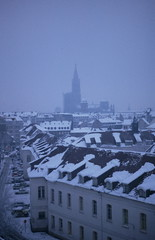 Strasbourg: L'Hiver (faraway3000) Tags: gothic cathedrals strasbourg alsace