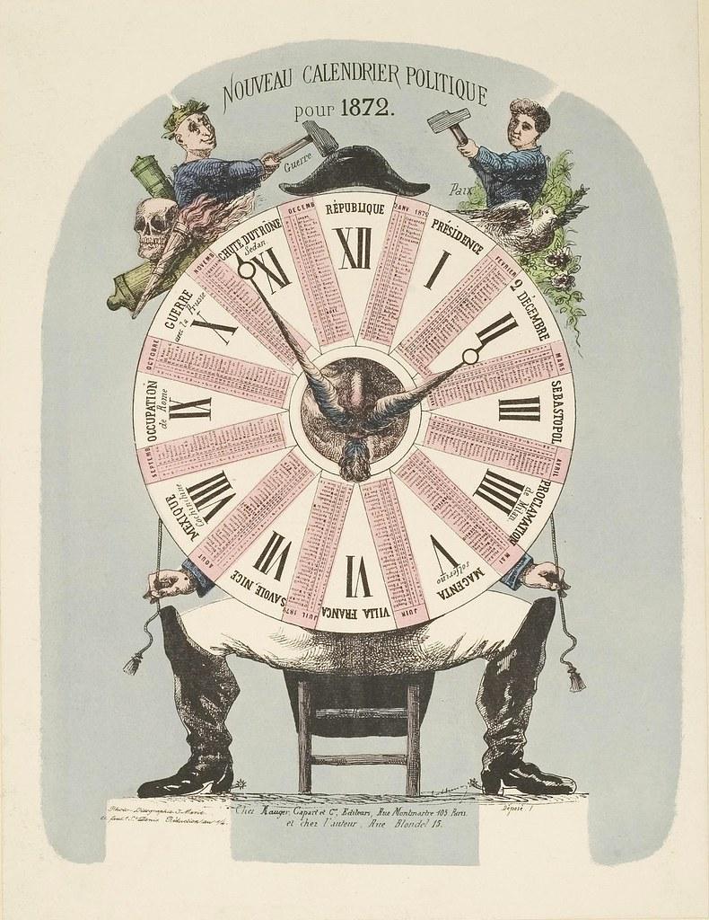 Nouveau Calendrier Politique pour 1872
