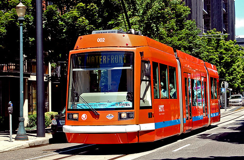 Portland Streetcar via flickr user Portland Urban Condos