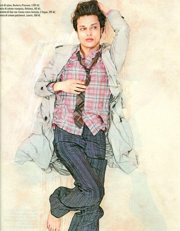 Fuad Ait Aattou0102_Style Magazine Italia_Ph Mauro Balletti(I Love Models Blog)