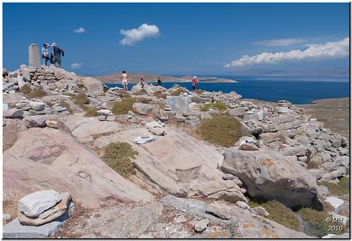 Delos - Mount Kynthos  [View on Black] - best viewed ...