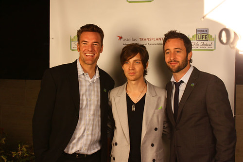 Olympic snowboarding bronze medalist Chris Klug; musician Alex Band; actor Alex O'Loughlin