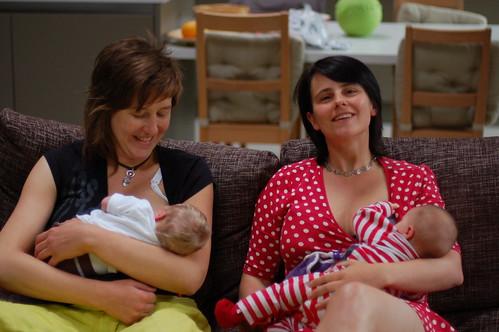 Gelukkige moeders