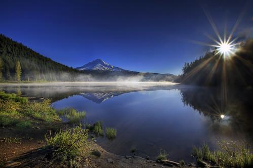 Sunrise at Trillium Lake, Oregon 3 - HDR