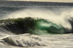 greenroom (scorpiistar) Tags: beach surf barrels indianocean tube wave surfing westernaustralia floreat canon500d sigma150500