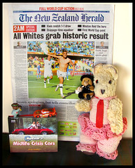 Ted's New Zealand Herald News Flash..... All Whites Grab Historic Result...