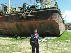 Foto Bareng Kapal Apung