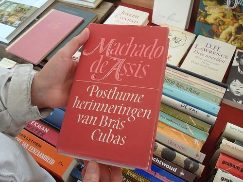Livros em Amsterdam