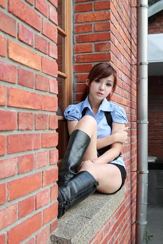 [フリー画像] 人物, 女性, アジア女性, 201103070900