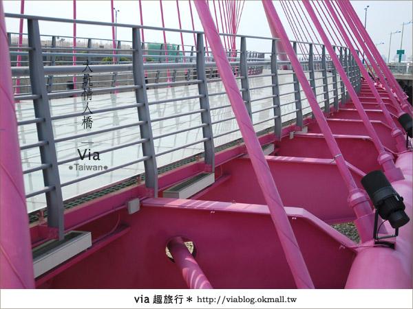 【大坑情人橋】新的台中約會景點~浪漫粉紅色情人橋8