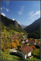 ~ filisur ~ (Nordljus*) Tags: autumn mountain alps berg schweiz switzerland herbst alpen albula graubnden grisons filisur sigma1770mm canoneos550d
