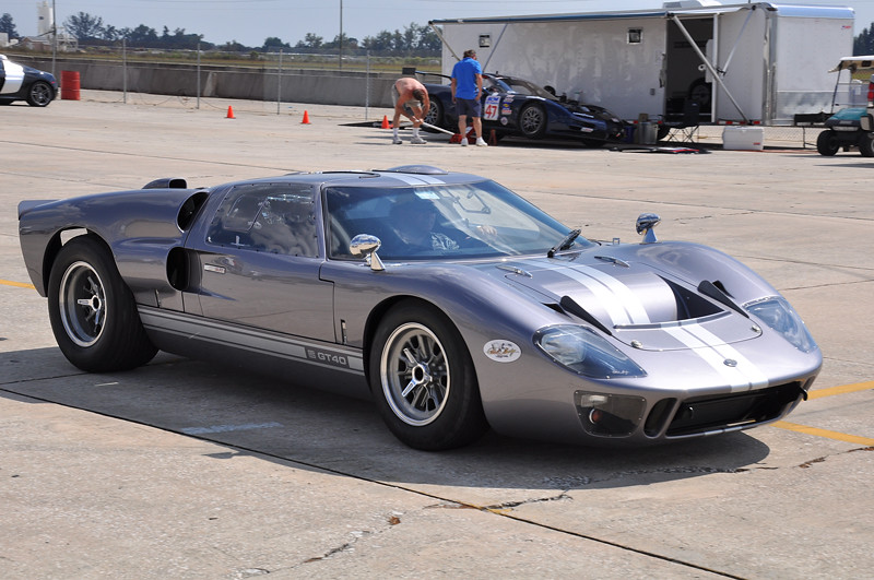 Carroll Shelby 85th Birthday Commemorative GT40 at Sebring