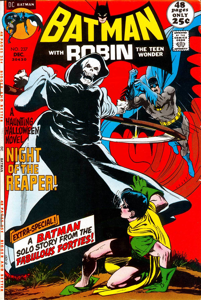 BATMAN 237 cover by Neal Adams