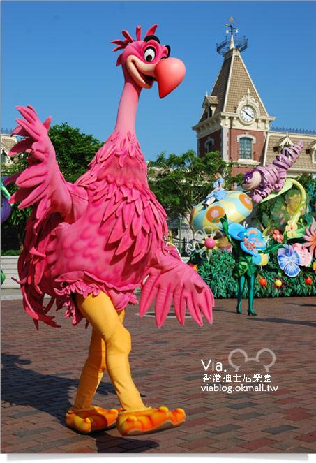 【香港迪士尼】跟著via玩香港(3)~迪士尼卡通人物歡樂巡遊21