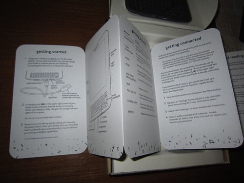 Kindle Instruction Manual