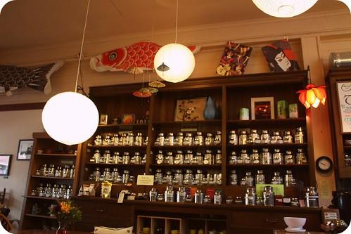 coffee & tea shop