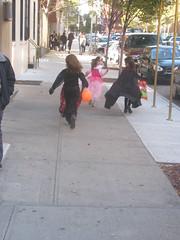 Sleeping Beauty Pursued by Vampires (edenpictures) Tags: nyc newyorkcity eastvillage ny halloween costume downtown trickortreat manhattan vampires sleepingbeauty east4thstreet