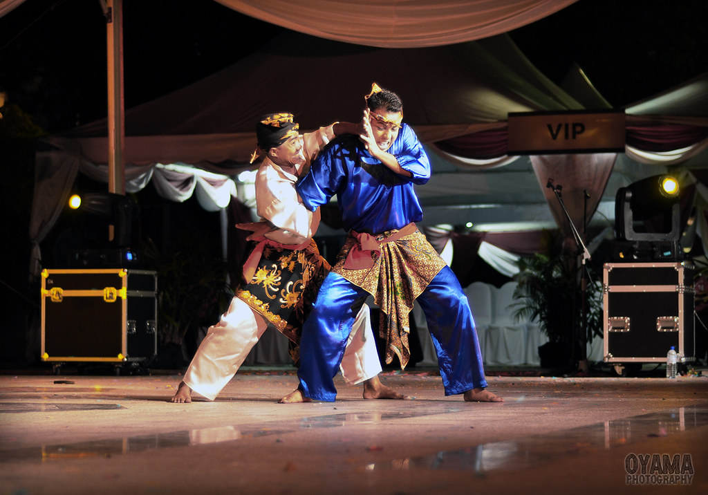 Malay Art of Defence - Silat Performance.