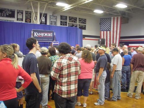 Clinton/Kanjorski Rally