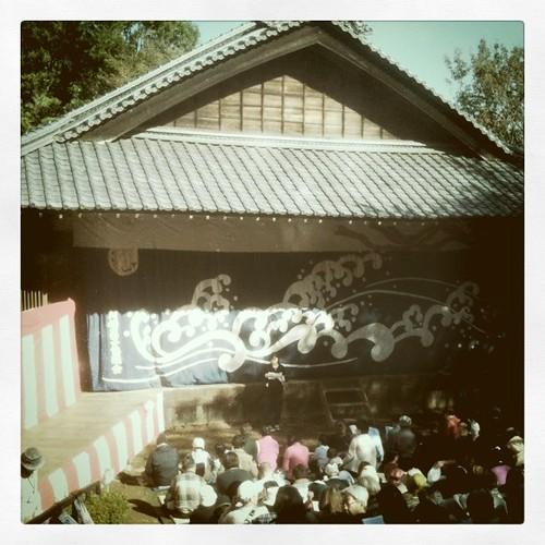 今日は歌舞伎