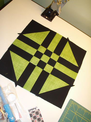 Block#6 in Mystery Quilt