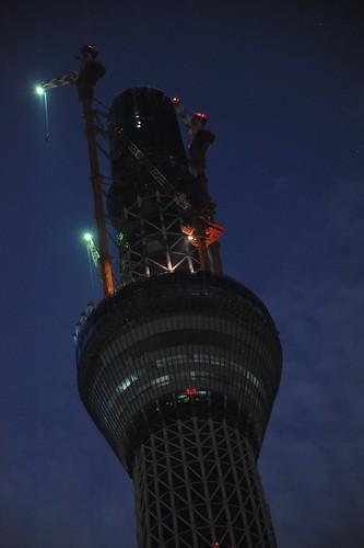 Tokyo Sky Tree at night