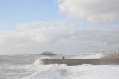 brighton_waves_065 (Peter-Williams) Tags: uk november sea sky storm beach water sussex pier brighton wave flume seafront groyne breaker 2010 breakwater