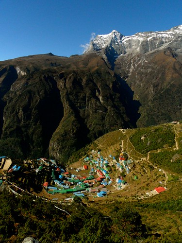 Namche from up high