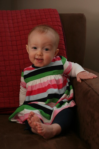 Eight Months:  Freakin' adorable