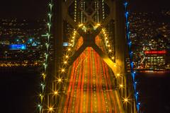 World Passing By (Thomas Hawk) Tags: america bayarea baybridge california sfbayarea sanfrancisco sanfranciscobayarea treasureisland usa unitedstates unitedstatesofamerica architecture bridge us fav10 fav25 fav50 fav100