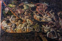 Damned. The Last Judgement (andbog) Tags: sony alpha ilce a6000 sonya6000 emount mirrorless csc sonya sonyα sonyalpha sony⍺6000 sonyilce6000 sonyalpha6000 ⍺6000 ilce6000 church chiesa iglesia catedral cathedral cattedrale handheld gothic apsc it medieval église france francia fr languedocroussillon occitanie occitania midipyrénées albi tarn unesco painting dipinto interior inner 1650mm selp1650 oss sel demons demoni devil diavolo