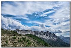 Vistas desede COLL DE RATES (por Tárbena) (Pilar Lozano ♥) Tags: montaña cielo nubes árbol pilar lozano♥ coll de rates