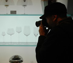 Mystery Photographer (PipeStudNYC) Tags: christmas nyc newyorkcity wineglasses timewarnercenter mysteryphotographer