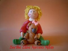 Mueca Navidad (Bertha Elina Marcano) Tags: en navidad pasta masa francesa flexible fria porcelana porcelanicron felxible