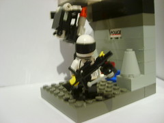 Patrol (Alexander's Lego Gallery) Tags: tower cops guard police cop hunter base turret