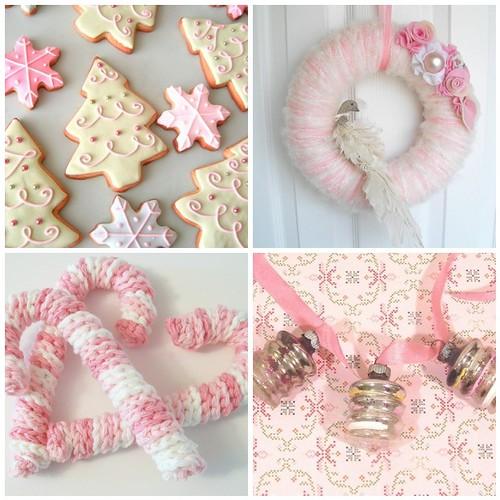Pretty pastel Christmas