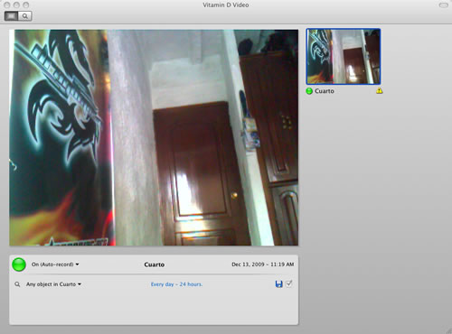 tutorial web cam vigilancia