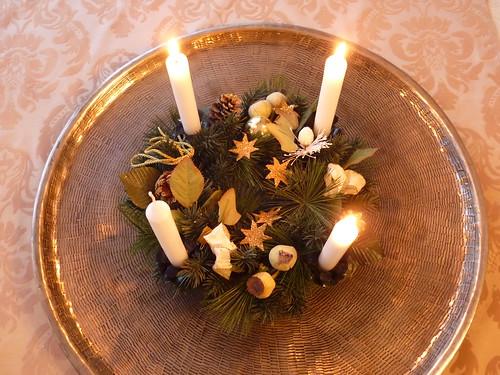 Advent: Dritte Kerze brennt