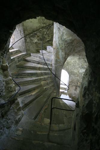 Spiral Staircase, Dover Castle