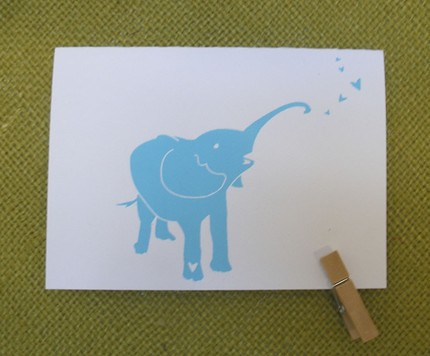Blue Elephant Note