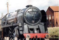 train-7 (zaphad1) Tags: great central railwway gcr loughborough station steam train track bygone era old rail locomotive pentax sp500 leicestershire east midlands uk railway zaphad1 creative commons
