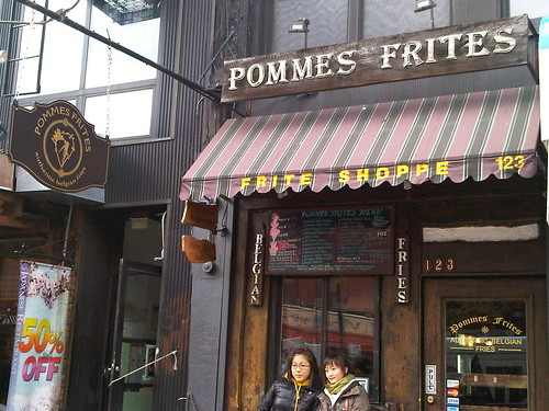 Pommes Frites - Belgian Fries