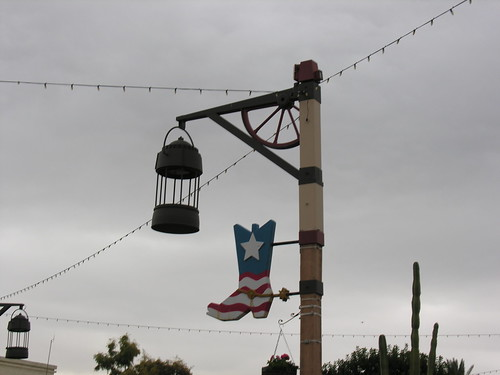 In Old Town Scottsdale, even the street signs have cowboy boots!