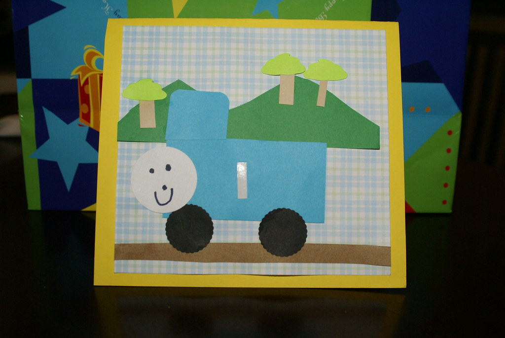 Aaron's Thomas Card