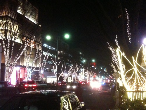 Omotesando Christmas illminations 2009 winter